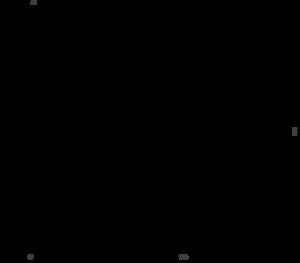 Dimensions of Regul R500 PLC standard module