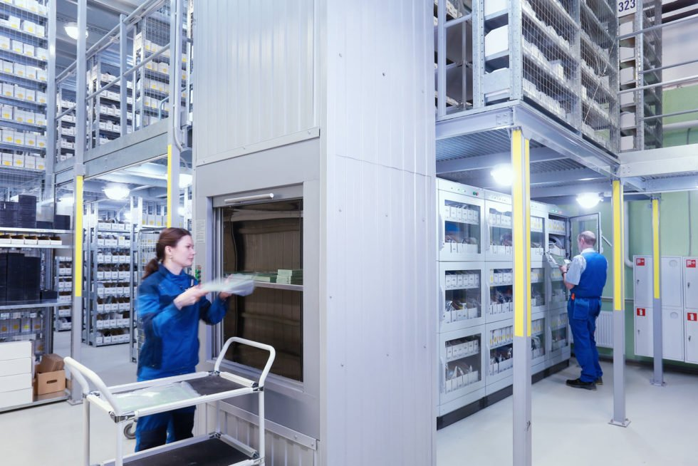 GP Systems GmbH - Components warehouse