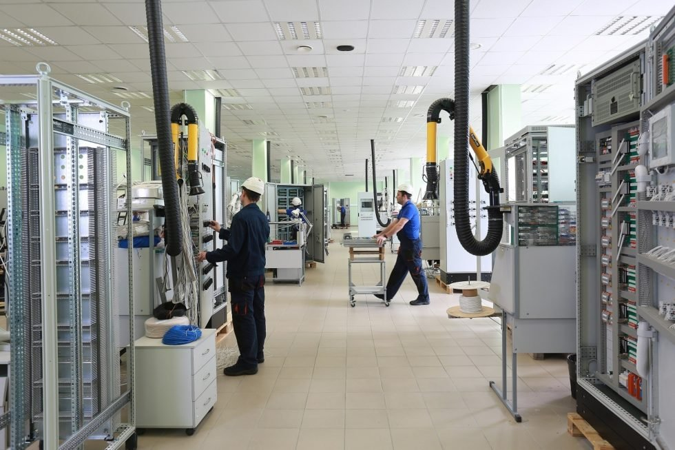 GP Systems GmbH - Cabinet assembly