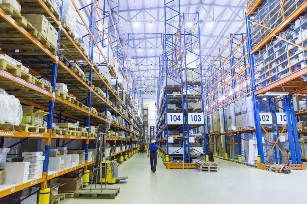 GP Systems GmbH - Main warehouse