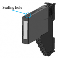 Regul R200 PLC - Sealing hole
